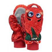 BARTS-Moufles imperméable imprimé rouge fraise Enfant Fille du 1 au 6 ans Barts