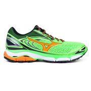 Mizuno - Wave Inspire 13 Hommes chaussure de course (vert/Orange)