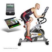 i.SPADA 2 RACING H9356IFR Vélo de biking - Magnetique - frein à friction - Applis de fitness - Moniteur LCD - Prg Watts