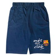 Short enfant FC Barcelone club bleu