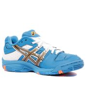 Gel Blast 5 GS Garçon Chaussures Handball Bleu Blanc Asics