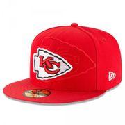Casquette NFL Kansas City Chiefs New Era Sideline 59fifty taille casquette - 7 1/4 (57.7cm)