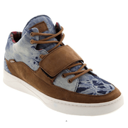 Baskets montantes VANS TENENT Denim brown white ltd