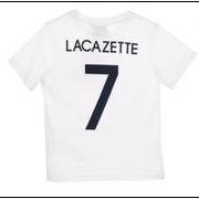 Tee shirt de Foot FRANCE Officiel LACAZETTE enfant blanc