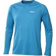 Ls Crew Homme Tee-Shirt Running Bleu Asics