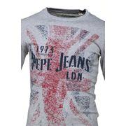 Tee Shirt Garçon Pepe Jeans Byron Jr Pb502210 933 Grey Marl