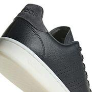 Chaussures adidas neo Advantage gris foncé noir blanc