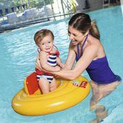 Bestway Siège de bébé à 3 anneaux pour baignade Fisher Price Step A