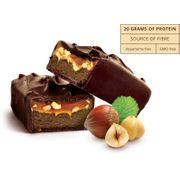 12 x Protein Gourmet Bar 80 g - Chocolat au Lait