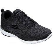 Skechers - Flex Appeal 3.0 Femmes Chaussure de fitness (noir/blanc)