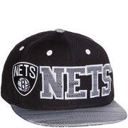 Brooklyn Nets Garçon/Homme Snapback Basketball Noir Adidas