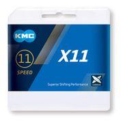 Chaîne KMC X-11 11V 118 maillons gris