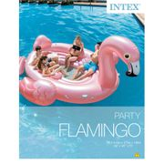 Intex Flotteur gonflable pour piscine Flamingo Party Island 57267EU