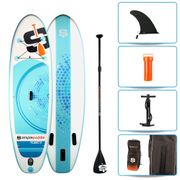 Pack Stand Up Paddle gonflable 9'0 - PLANET SIMPLE PADDLE 9' (274 cm) x 30'' (76 cm) x 6