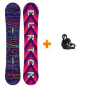 Pack Snowboard Burton Feather 2018 Femme 2nd Et Fixations Burton Citizen 2019 Taille M