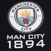 Manchester City FC officiel - Pull zippé à capuche thème football - polaire - homme