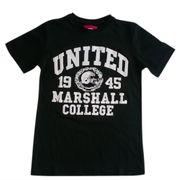 Tee shirt enfant Marshall noir Taille 8 ans