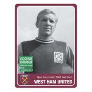 Maillot west ham 1965/66