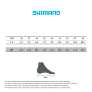 Chaussures Shimano RP3 2019 blanc femme