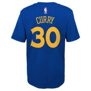 T-shirt NBA Stephen Curry Golden State Warriors Bleu pour enfant taille - XL (165-175cm)