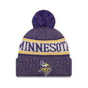 Bonnet pompon Minnesota Vikings  SPORT KNIT