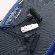 Home Vibration Plate 600 - Plateforme vibrante oscillante - 4 Prog. - Bleu
