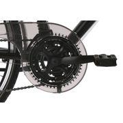 VTC homme 28'' aluminium Canterburry noir guidon multiposition TC58cm KSCycling