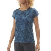 Tee-Shirt ODAIBA PRINT TEE 2.0 W Storm Blue Print - Femme - Randonnée, Lifestyle