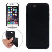 Coque combinaison-Thin TPU PC Etui avec écran tactile avant pour iPhone 6 (Noir)