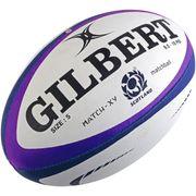 Ballon de rugby Gilbert Ecosse (taille 5)