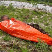 Sac de survie Highlander Survival Bivi Bag orange
