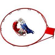 PANIER DE BASKET-BALL - PANNEAU DE BASKET-BALL Cercle Basket 18 Pouces avec Filet