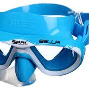 LUNETTES DE PLONGEE - MASQUE DE PLONGEE  Masque et Tuba de plongée Bella - Enfant - Bleu