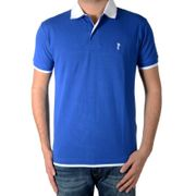 Polo Marion Roth P1 Bleu Royal / Blanc