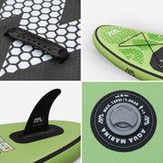 Pack stand up paddle gonflable Breeze 9' avec pompe haute pression, pagaie, leash et sac de rangement inclus