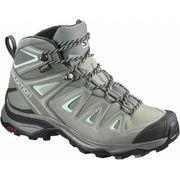 Salomon - X Ultra 3 mid GTX® Femmes chaussures de randonnée (gris clair)