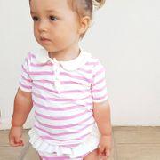 Saint Trop Mayo Parasol Tee-shirt bébé anti uv manches courtes