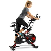 Vélo de cyclo indoor, Volant d'inertie 22kg. Pédales mixtes. H9174F BH SB2.7