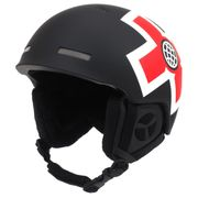 Casque de ski Xgame noir/rouge casque