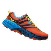 Chaussures Hoka One One Speedgoat 3 orange noir bleu