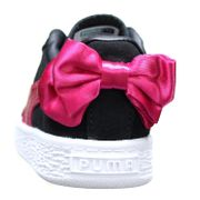 Basket Fille Puma Suede Bow Ac Inf 367320 - 04 Noir