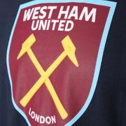 West Ham United FC officiel - T-shirt thème football - avec blason - garçon