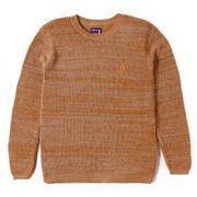 L.BOLT Rice Knitt Crewneck CATHAY SPICE