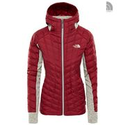 The North Face W Thb Hybrid Gl Hde Rumba Red/Oatmeal Heather L