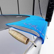 Hop-Sport Trampoline rond 244 cm trampoline de jardin avec filet ext?rieur; ?chelle; b?che de protection