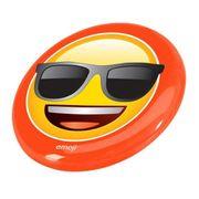 DISQUE A LANCER - DISQUE D'ATHLETISME  Disque volant frisbee Lunette de Soleil - 23cm - Jaune et Orange