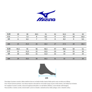 Chaussures Mizuno Wave Ultima 11 blanc bleu noir