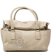 sac à main beige femme desigual