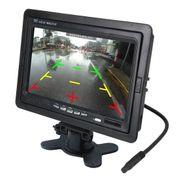 Dashcam camera dvr auto-7 pouces TFT LCD Moniteur Couleur Oreiller LCD TFT Plein écran d'Affichage Couleur avec Télécommande est