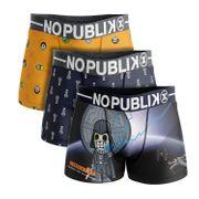No Publik - Lot De 3 Boxers Enfant Calaveritas Space Warriors